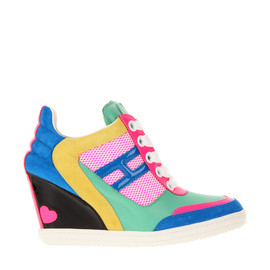 HOGAN x KATIE GRAND - Wedge Sneakers