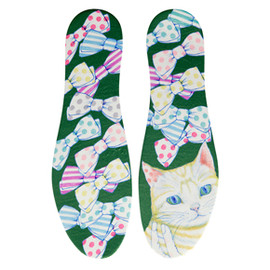 "Danke×D[di:] -  Insole ""cat ribbon"""