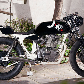 """Honda - CB400N Superdream """" CARDIO """" – Bandisca – Hell Rated Motorcycles"""
