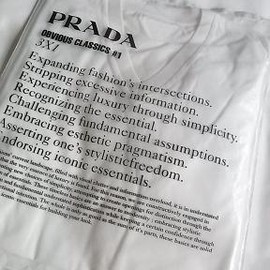 PRADA - THREE PACK V-NECK T-SHIRTS / WHITE