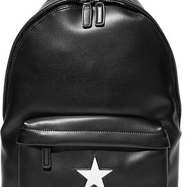 Givenchy - Medium backpack in black and white leather