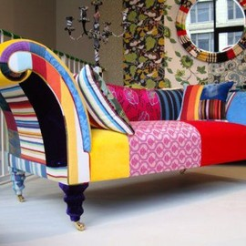 squint - funky patchwork furniture