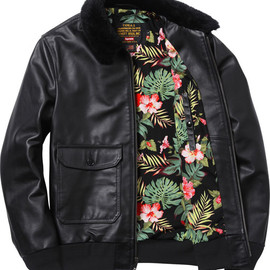 Supreme - Schott Leather Flight Jacket