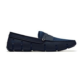 SWIMS - Penny Loafer,Navy
