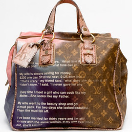 LOUIS VUITTON - Richard Prince x LOUIS VUITTON