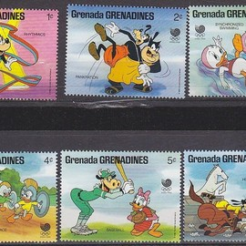 Disney - Olympic Stamps