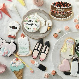 cafe luck sweets shop - girly cookies