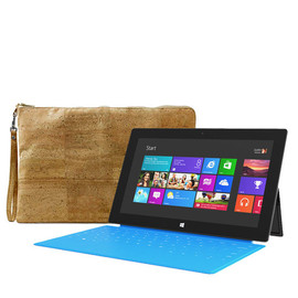 Corkor - Surface Cover, Sleeve for Microsoft Surface Tablet - Eco Friendly Gift