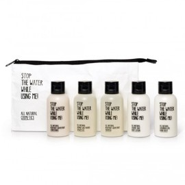 STOP THE WATER WHILE USING ME! - ALL NATURAL COSMETICS TRAVEL KIT