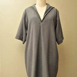 Peter Jensen - WOOL CREPE SAILOR DRESS