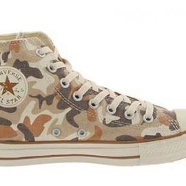 CONVERSE - chuck taylor all star hi top desert camouflage