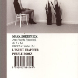 Mark Borthwick - are plants people