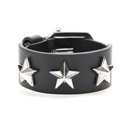 GIVENCHY - Studded leather bracelet