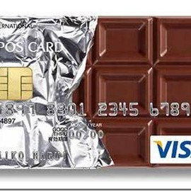 EPOS Chocolate Visa - 7-epos-chocolate-credit-card