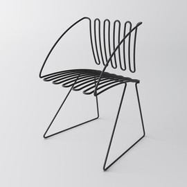 scott jarvie - WIRE CHAIR