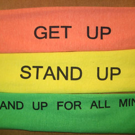 ヤマタマ - GET UP STAND UP STAND UP FOR ALL MIND tee