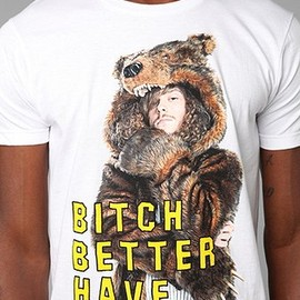 urban outfitters - Workaholics Bear Tee
