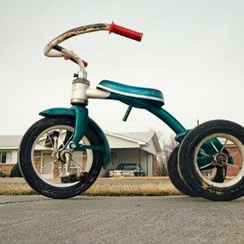 William Eggleston - Tricycle, Memphis, 1968