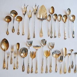 Antique - Silver flatware