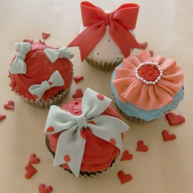 THUMB AND CAKES - Valentine Cupcake