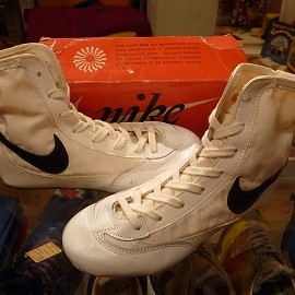 "NIKE - 「<deadstock>70's NIKE GRECO white""made in TAIWAN"" W/BOX size:US5/h(23.5cm) 6900yen」完売"