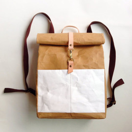 Belltastudio - BT Paper Backpack with detachable shoulder strap