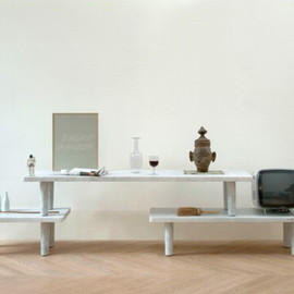 Jasper Morrison - Triple Carrara Table