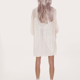 WILDFOX - SEND ME AN ANGEL MANHATTAN CARDIGAN