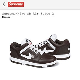 Supreme - Supreme/NIKE SB Air Force 2