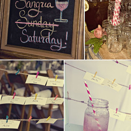Green Wedding Shoes - sangria saturday