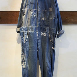 Porter Classic - Denim Peace symbol Custom All in One