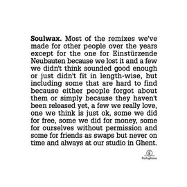 SOULWAX - Most of th Remixes