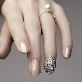 Amazing Wedding Day Manicure!