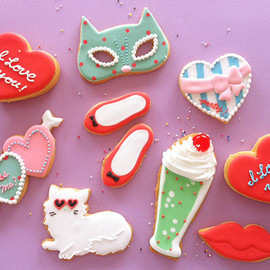 thumb and cakes - cute cute sugar cookies