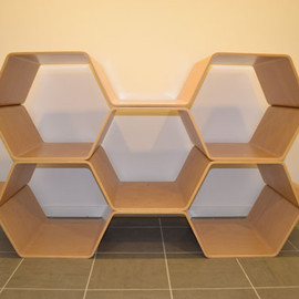 meister - bee hive shelf