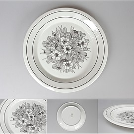 ARABIA - KROCUS DINNER PLATE