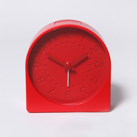 SAM HECHT - BELL CLOCK RED