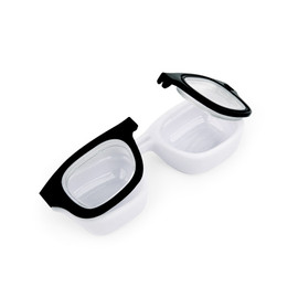 Kikkerland - retro specs contact lens case
