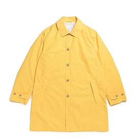 nanamica - Soutien Collar Coat-Yellow