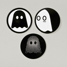 Ghostly - Ghostly Logo Sticker Set