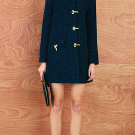 KAREN WALKER - Clasp Coat with Pocket
