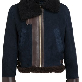 ACNE - Shearling and Suede Jacket
