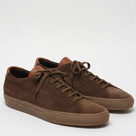 COMMON PROJECTS - SUEDE ACHILLES