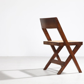 Pierre Jeanneret - Librairy Chair, ca 1952-56, for Chandighar