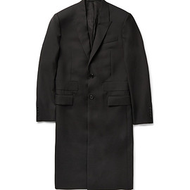 GIVENCHY - BAND-TRIMMED WOOL OVERCOAT