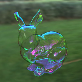 bunny bubble