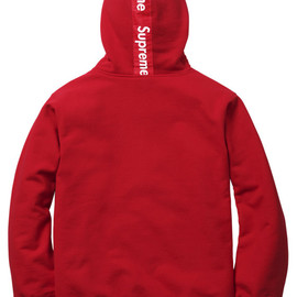 Supreme - Supreme   Logo Tape Zip Up Hoody | Available Now