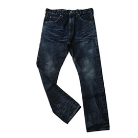 .efiLevol - Front Sarrouel Narrow Denim Pants
