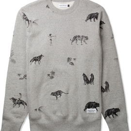 Raised BY Wolves - Heather Grey The Jungle Book Crewneck