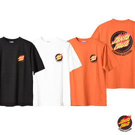 Santa Cruz Skateboards, STANDARD CALIFORNIA - SANTA CRUZ × SD Flame Logo T